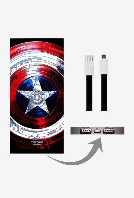 Macmerise Captains Shield Decoded 8000 mAh Power Bank