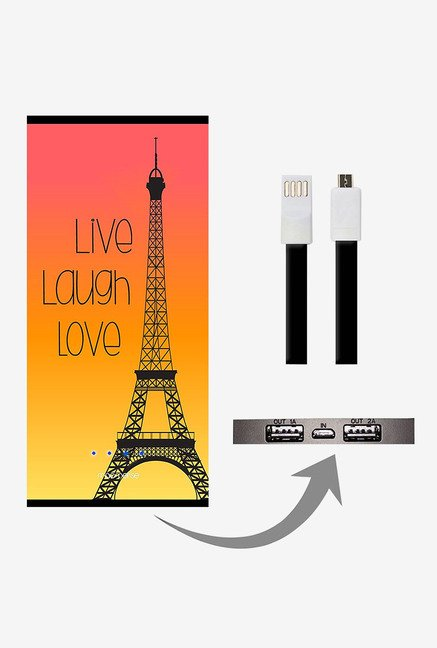 Macmerise Live Laugh Love 8000 mAh Universal Power Bank