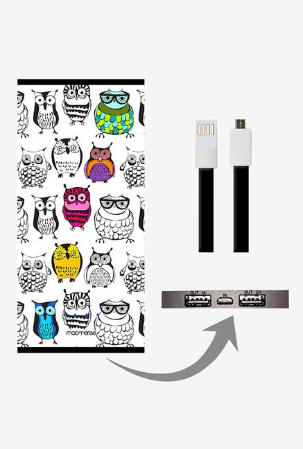 Macmerise Owl Art 8000 mAh Universal Power Bank