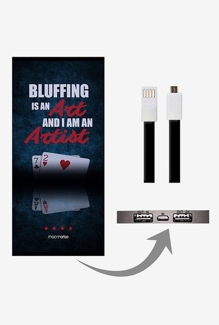 Macmerise Art of Bluffing 8000 mAh Universal Power Bank