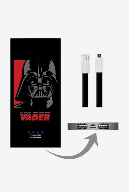 Macmerise Vader 8000 mAh Power Bank (Black)