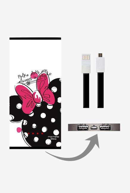 Macmerise Polka Minnie 8000 mAh Universal Power Bank