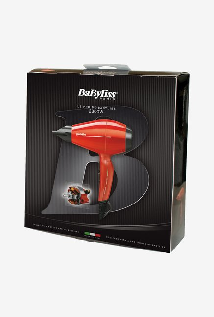 Babyliss 6615E 2400 W Hair Dryer Red