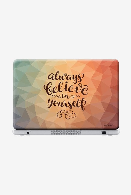 "Macmerise Believe in Yourself Skin for 14"" Laptops"