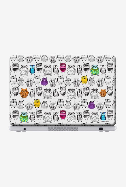"Macmerise Owl Art Skin for 14"" Laptops"