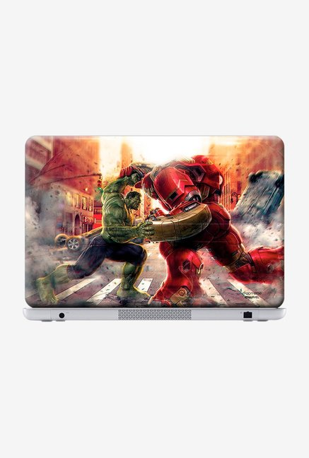 "Macmerise Monster Vs Machine Skin for 13"" Laptops"