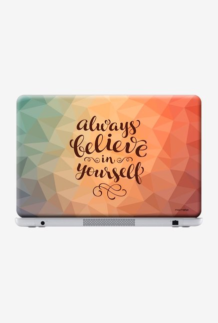 "Macmerise Believe in Yourself Skin for 13"" Laptops"
