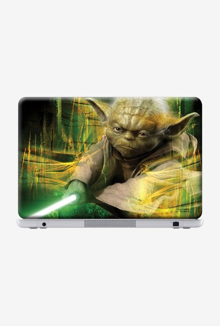 "Macmerise Furious Yoda Skin for 15"" Laptops"