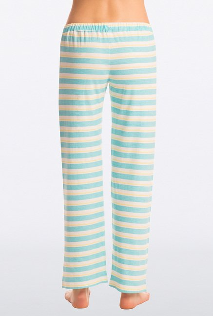 Pretty Secrets Turquoise Striped Pyjama