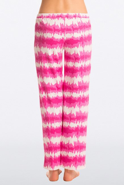 Pretty Secrets Pink Tie-Dye Cotton Pyjama