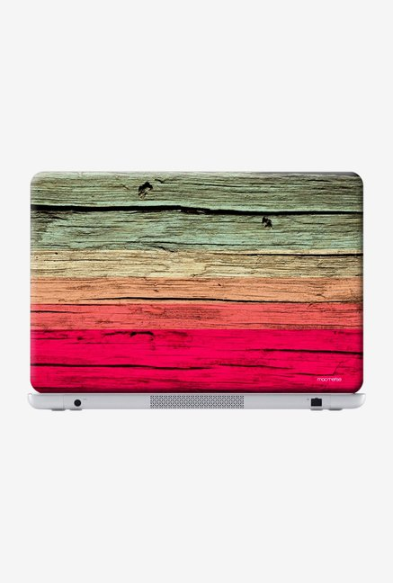 Macmerise Wood Stripes Fuschia Skin for 15.4