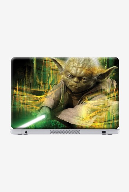 "Macmerise Furious Yoda Skin for 15.4"" Laptops"