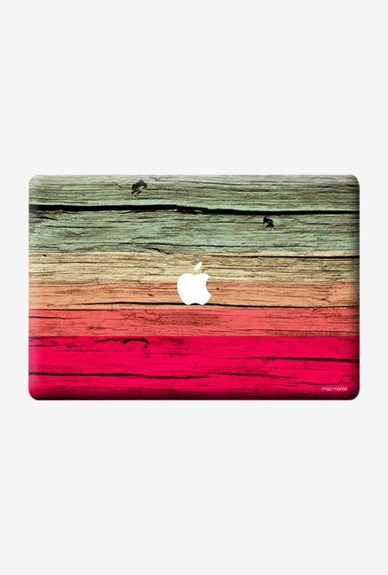 "Macmerise Wood Stripes Fuschia Skin for 13"" MacBook Air"