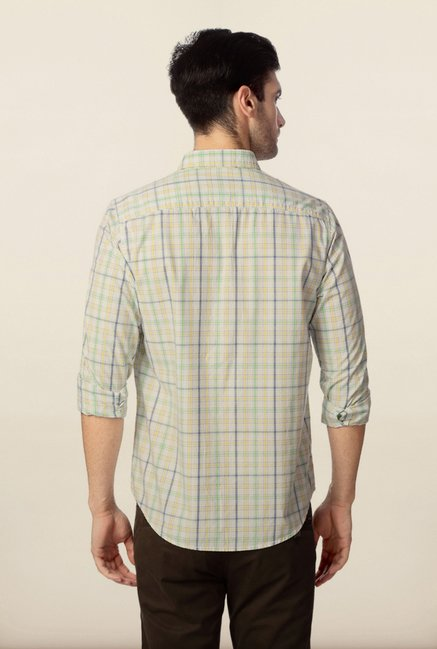 Peter England Multicolour Checks Shirt