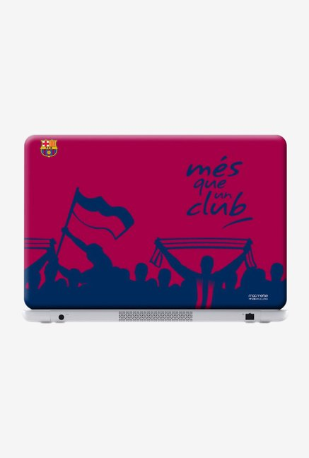 "Macmerise FCB Slogan Skin for 15.4"" Laptops"