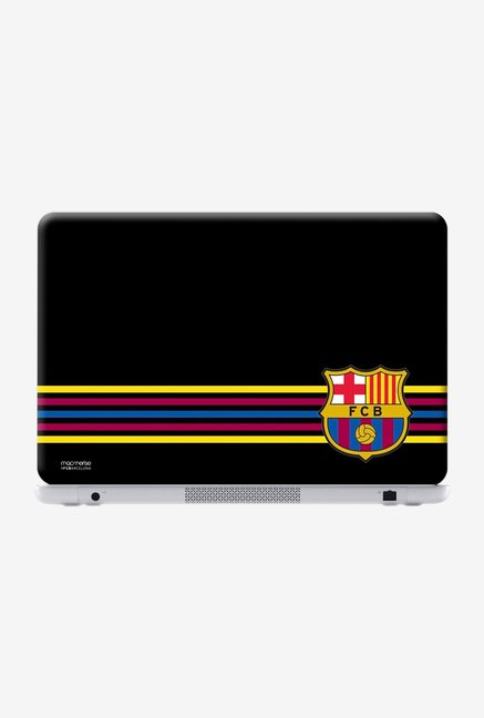 "Macmerise FCB Stripes Black Skin for 15.4"" Laptops"