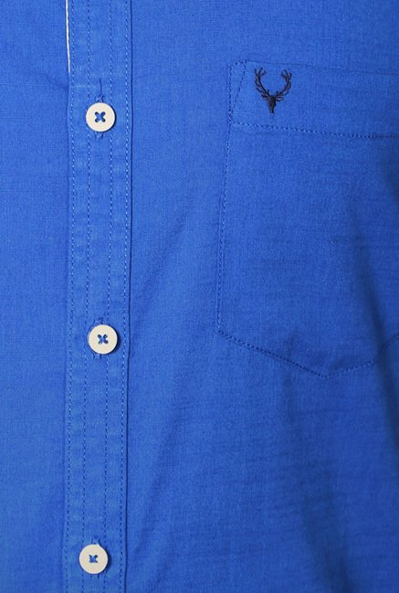 Allen Solly Blue Casual Shirt