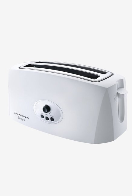 Morphy Richards Europa 4 Slice Pop Up Toaster White