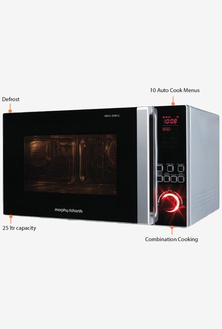 Morphy Richards 25MCG 25L Convection Microwave Black