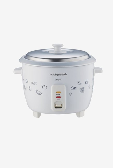 Morphy Richards 1.8 L Rice Plus Rice Cooker White