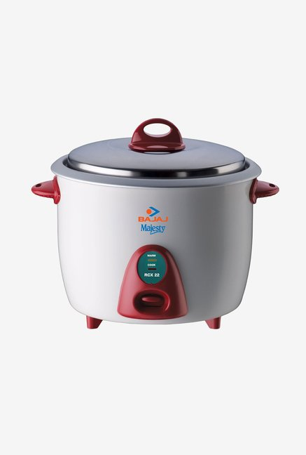 Bajaj Majesty 1.8 L RCX 22 Plus Rice Cooker White