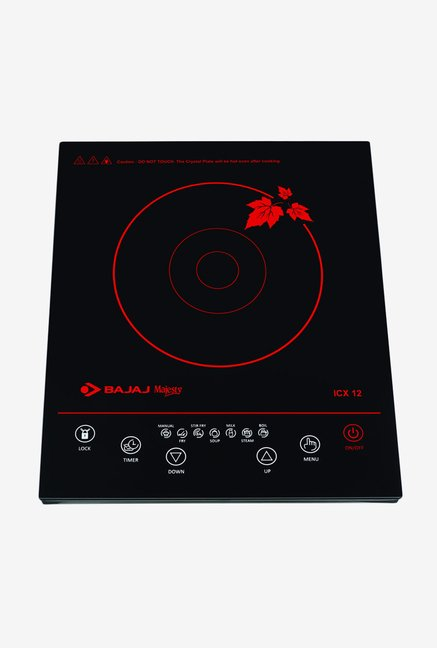 Bajaj Majesty 1800W ICX12 Induction Cooktop Black