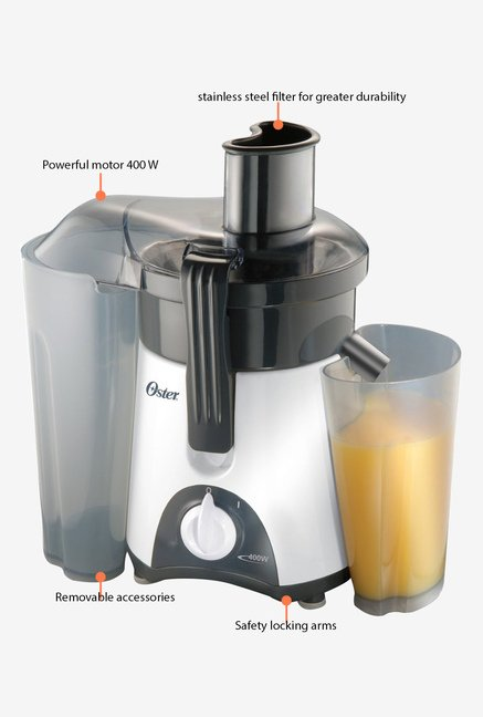 Oster 3157 400 W Juicer White and Grey
