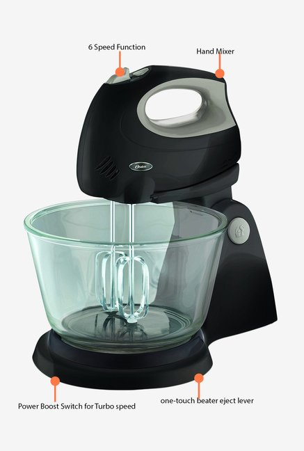 Oster 250 W 2611 Hand Mixer Black and Grey