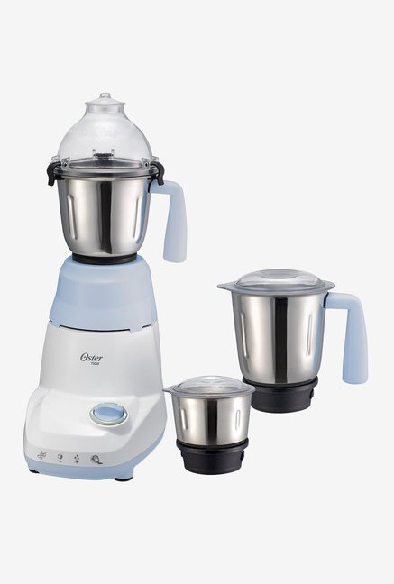 Oster 750 W 6021 Mixer Grinder White and Blue