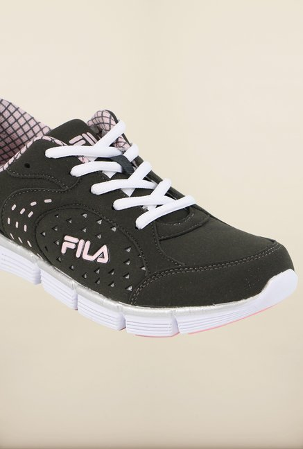 Fila Dove III Charcoal Running Shoes