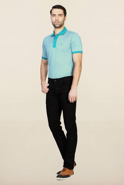 Peter England Black Jeans
