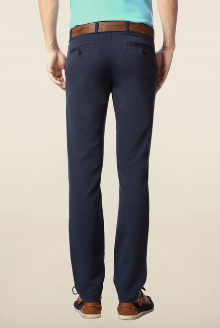 Peter England Navy Chinos