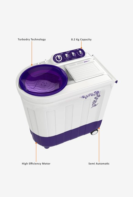 Whirlpool Ace 8.2 Turbodry Washing Machine Purple