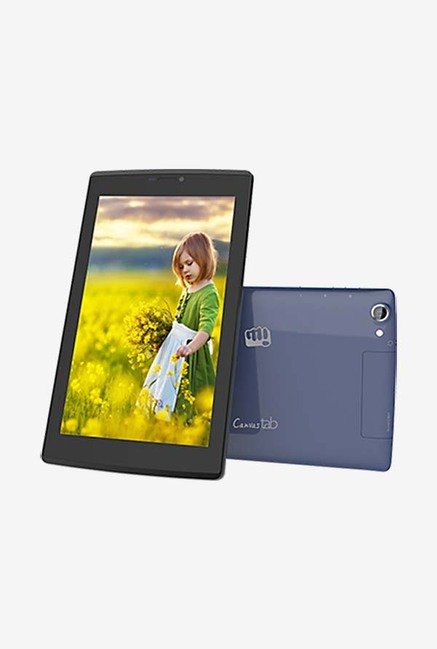 Micromax Canvas P480 Tablet (Blue)