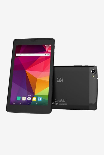 Micromax Canvas P702 Tablet (Black)