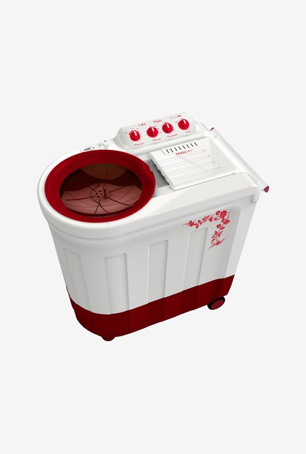 Whirlpool Ace 7.5 Stainfree Washing Machine Flora Red
