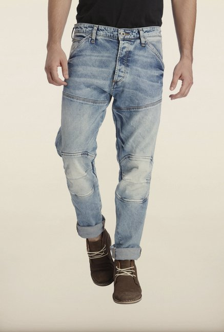 Jack & Jones Blue Cotton Jeans