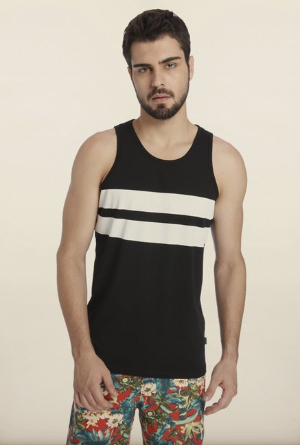 Jack & Jones Black Solid Vest