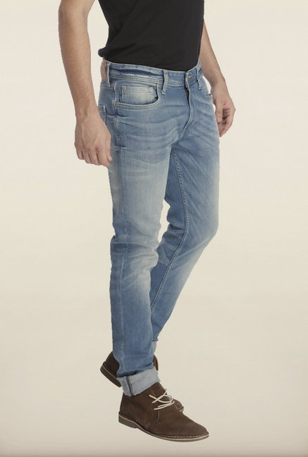 Jack & Jones Blue Lighty Washed Jeans