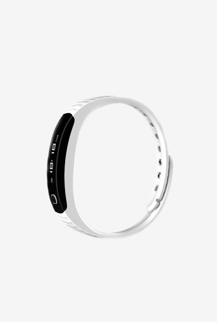 Intex Fitrist Fitness Band Bluetooth 4.0 White