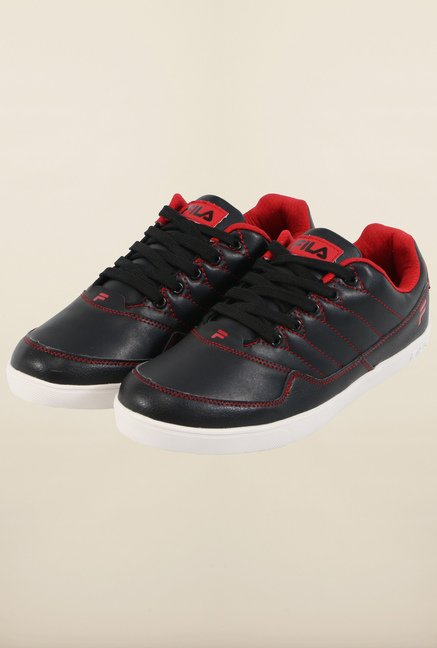 Fila Elizo Black & Red Sneakers for Men