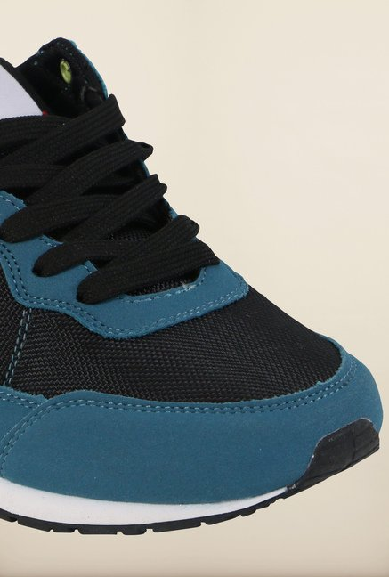 Fila Eliso Acid Blue & Black Sneakers for Men
