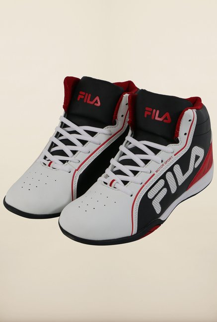Fila Isonzo White & Black Sneakers for Men