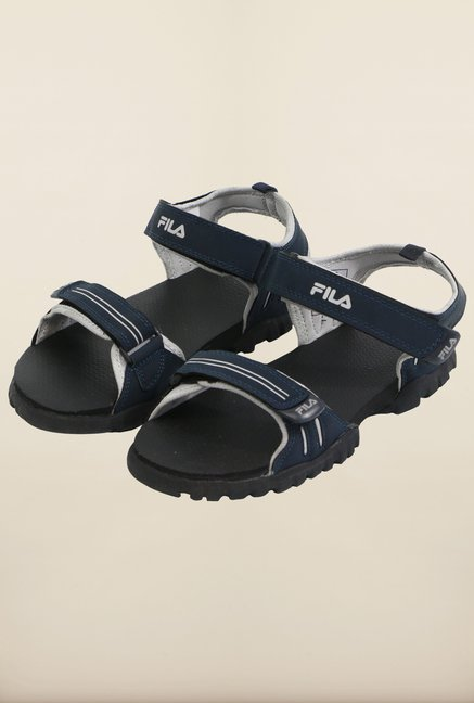 Fila Climb Navy & Silver Floater Sandals