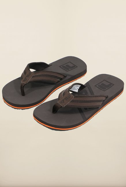 Fila Greata II Brown Flip Flops