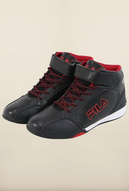 Fila Lazzero Black & Red Sneakers for Men