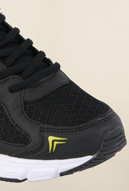 Fila Run Fast Plus 2 Black & Yellow Running Shoes