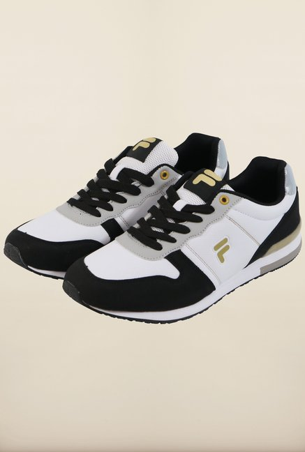 Fila Orazio Plus 2 Black & White Sneakers for Men