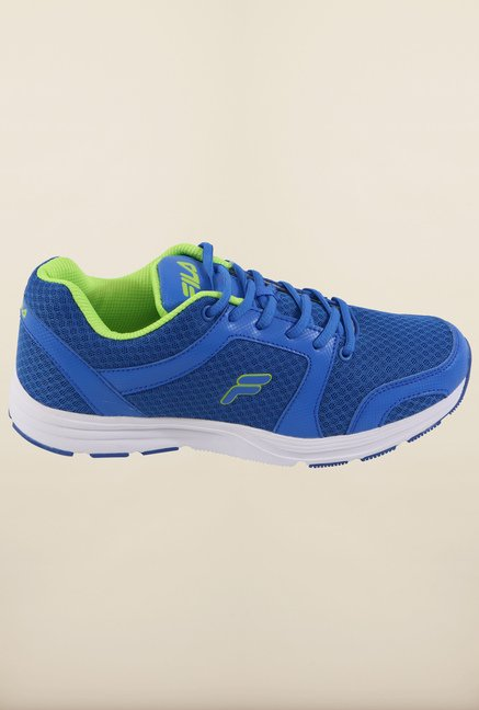 Fila Niccolino Royal Blue & Neo Green Running Shoes