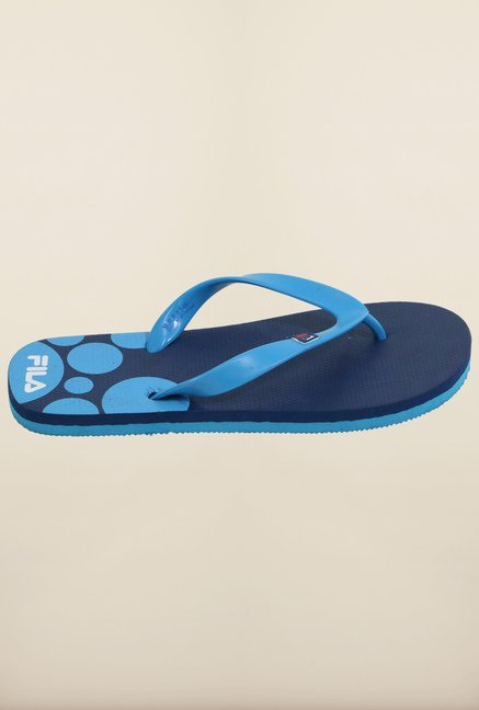 Fila Walk Navy & Blue Flip Flops